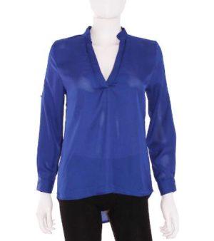 Blusa Mujer – Choise en Color Azul Eléctrico de Segunda Mano