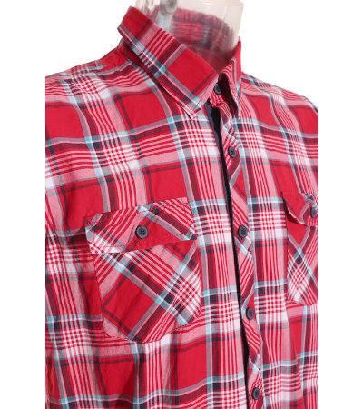 Camisa de Manga Corta Hombre – Zara Young en Rojo con
