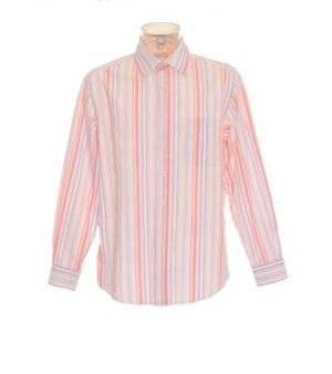 Camisa Hombre – Angelo Litrico (C&A) de Rayas Multicolor de Segunda Mano