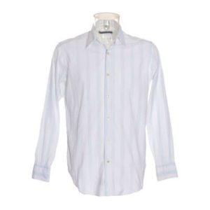 Camisa Hombre – Ungaro de Segunda Mano en Blanco con Rayas