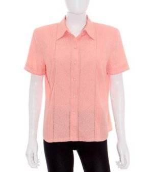 Camisa Mujer de Segunda Mano Salmón – Zendre Basic
