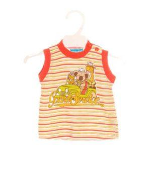 Camiseta Bebé – Tuttinen a Rayas con Dibujo de Segunda Mano