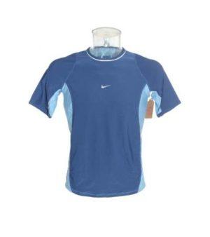 Camiseta Deportiva Hombre – Nike en Azul de Segunda Mano