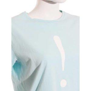 Camiseta Mujer – Easy Wear en Azul Cielo con ! de Segunda Mano