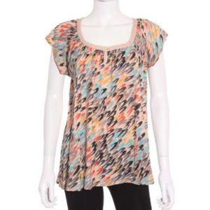 Camiseta Mujer – Yerse de Manga Corta Estampada de Segunda Mano
