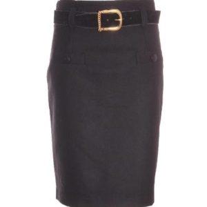 Falda Mujer – Celmar de Lana en Negro de Segunda Mano