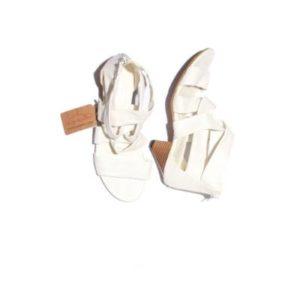 Sandalias Mujer – Ronie Fashioner en Blanco de Segunda Mano