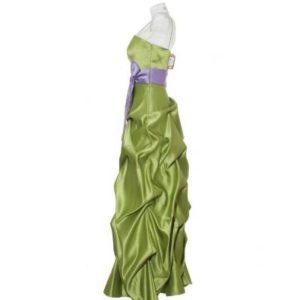 Vestido Largo Mujer de Fiesta – Bella Formals en Verde Oliva de Segunda Mano