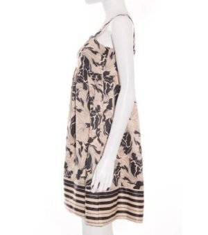 Vestido Mujer – Vero Moda de Raso Estampado Floral de Segunda Mano
