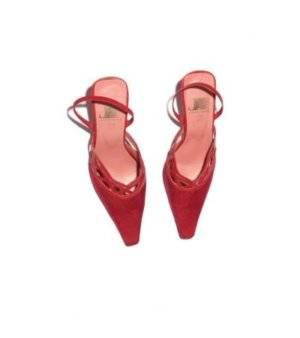 Zapatos Mujer – Jhesu en Granate Brillante de Segunda Mano