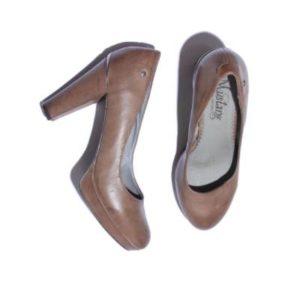 Zapatos Tacón Mujer – Mustang en Marrón de Segunda Mano