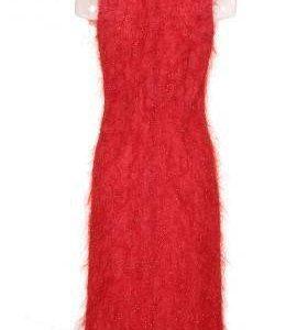 Vestido Fiesta Mujer – Adolfo Dominguez en Rojo Brillante de Segunda Mano