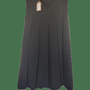 Vestido negro palabra de honor.