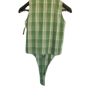 Camisa a cuadros verdes muy bonita