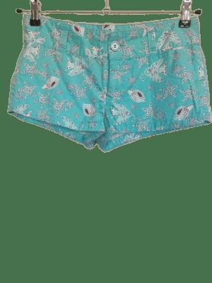 Pantalón corto Cherrokee azul.