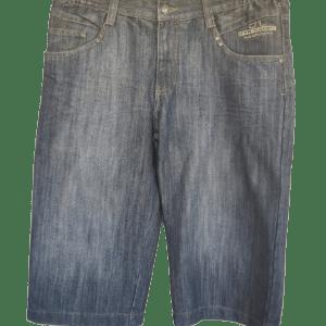 Pantalón corto vaquero azul